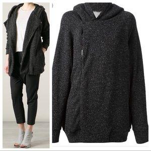IRO Women's Gray 'Lashay' Hooded Jacket